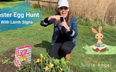 Lámh Signs For The Easter Egg Hunt By Silvia Angel