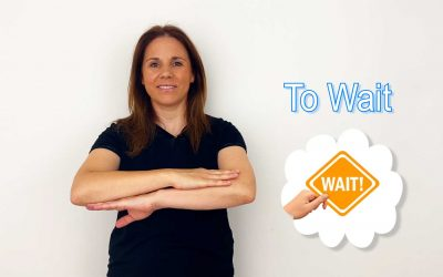 Sign Of The Week – To Wait