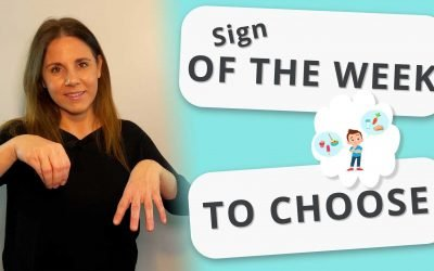 Lámh Sign For To Choose
